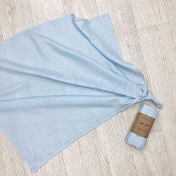 Пеленка для новорожденного Msonya муслин Голубой