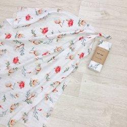 Пеленка для новорожденного Msonya муслин Хлопковый цветок