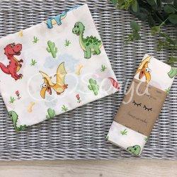 Пеленка ля новорожденного Msonya Дино игрушка