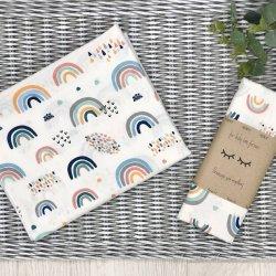 Пеленка для новорожденного Msonya Радуги