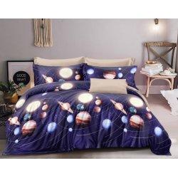 Подростковое постельное белье сатин Moon Love ST008 Астроном