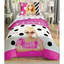 Детское постельное белье TAC Barbie Glitter