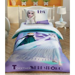 Детское постельное белье TAC Disney Frozen 2 Crystal