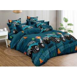 Подростковое постельное белье сатин Supercar Moon Love ST331
