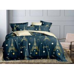 Подростковое постельное белье сатин Вояж green Moon Love ST332