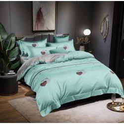 Подростковое постельное белье сатин Изумруд Moon Love ST329