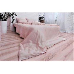 Постельное бельё сатин однотонный светло-розовый Nostra (Украина)