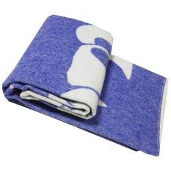 Одеяло жаккардовое Vladi Сони синее