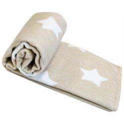 Детское одеяло Vladi Люкс Stars Bej