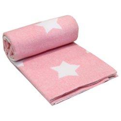 Детское одеяло Vladi Люкс Stars Pink