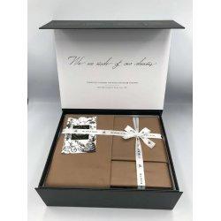 Постельное белье Oliver Hill сатин Premium какао