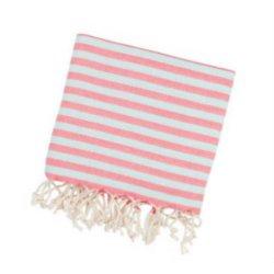 Пештемаль Barine Herringbone 100*185 Flamingo-mint