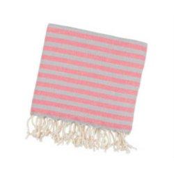 Пештемаль Barine Herringbone 100*185 Grey-pink