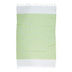 Пештемаль Barine Pestemal White Imbat 90*170  Green зеленый