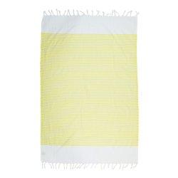 Пештемаль Barine Pestemal White Imbat 90*170 Yellow желтый