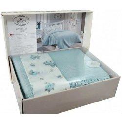 Летнее постельное белье Do&Co Dantelli Pike mint