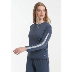 Женская пижама Yoors Star Y2019AW0129 темно-синяя