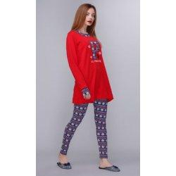 Женская пижама U.S. Polo Assn 15521 красная