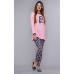 Женская пижама U.S. Polo Assn 15521 розовая