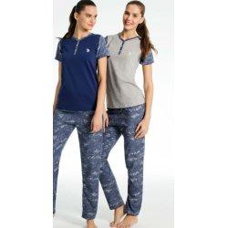 Женская пижама U.S. Polo Assn 15636 серая