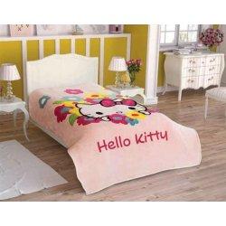 Детский плед Tac Disney Hello Kitty Flowers 160*220