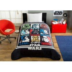 Детский плед Tac Disney Star Wars Force 160*220