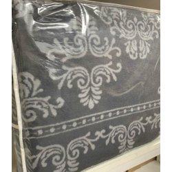 Плед Tac Cotton Battaniye Hera 200*220 серый