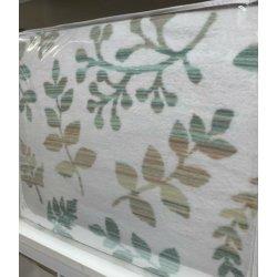 Плед Tac Cotton Battaniye Larissa 200*220 зеленый