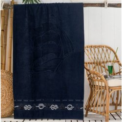 Пляжное полотенце Philippus Yelkenli A.Lacivert