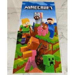 Детское пляжное полотенце First Choice Minecraft
