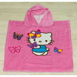 Пончо детское Hello Kitty Butterfly First Choice
