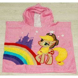 Полотенце пончо для детей Little poni