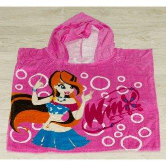 Полотенце пончо детское Winx First Choice