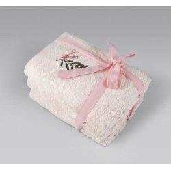 Набор махровых полотенец Irya Rina pembe 30*50 (3 шт)