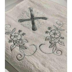 Крыжма для крещения Sikel 100*100 серебро