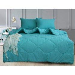 Набор постельного белья с летним одеялом TAG Mint Leaf