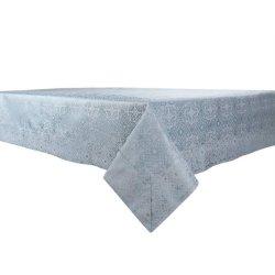 Скатерть Aliyum 160х300 тёмно-злёная прямоугольная