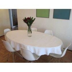 Скатерть Almira Mix Француженка 210х130 на овальный стол