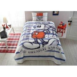 Детское постельное бельё с пике Tac Disney Mickey Sailor