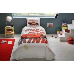 Детское постельное бельё с пике Tac Disney Cars Piston Cup