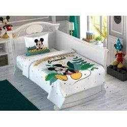 Детское постельное бельё с пике Tac Disney Mickey Explorer