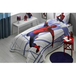 Детское постельное бельё с пике Tac Spiderman Homecoming