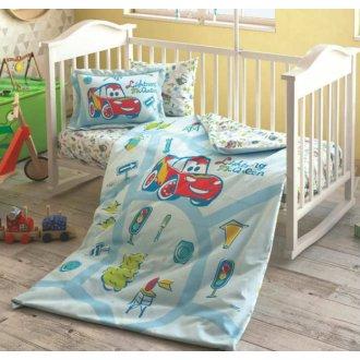 Детское постельное белье TAC Cars Traffic в кроватку