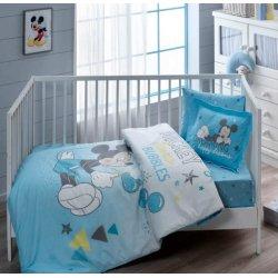 Детское постельное белье Tac Disney Mickey Bubble в кроватку