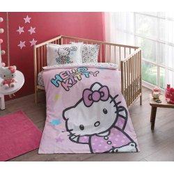 Детское постельное белье Tac Hello Kitty baby в кроватку