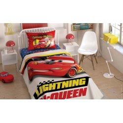 Детское постельное бельё с пике TАС Disney Cars Mcqueen 2020