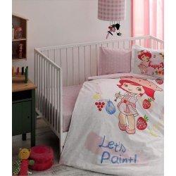 Детское постельное белье TAC Strawberry Shortcake Paint в кроватку