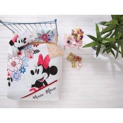 Постельное белье евро TAC Disney Minnie Mouse Watercolour