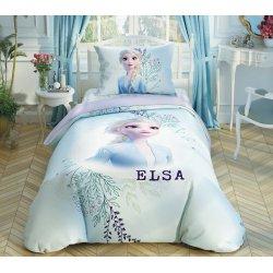 Детское постельное белье TAC Disney Frozen 2 Double color Anna & Elsa