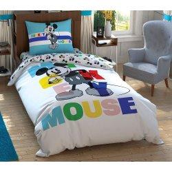 Детское постельное белье TAC Disney Mickey Colour Face